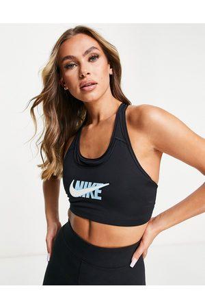 Nike Women Sports Bras - Icon Clash Swoosh medium support sports bra in
