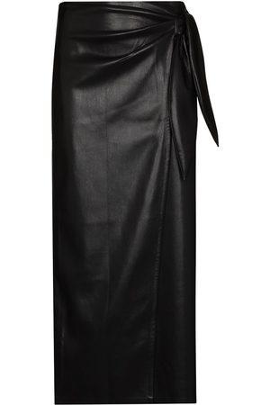 Nanushka Women Midi Skirts - Amas wrap-effect midi skirt