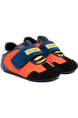 Dolce & Gabbana Baby Sneakers - Colour-block touch-strap sneakers