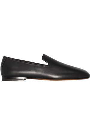 NEW STANDARD Women Loafers - Square-toe leather loafers