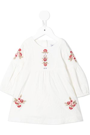 Tartine Et Chocolat Baby Casual Dresses - Embroidered long-sleeve dress