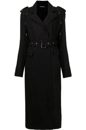 Boyarovskaya Belted long trench coat