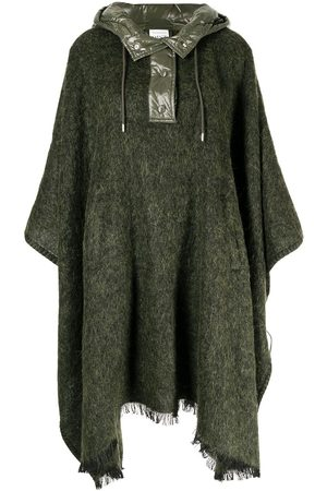 Moncler Oversized hooded cape