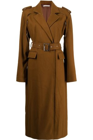 Boyarovskaya Belted waist trench coat