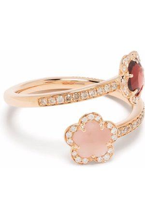 Pasquale Bruni 18kt rose gold Figlia dei Fiori multi-stone ring