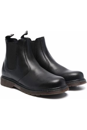 Diesel Boys Boots - Elasticated side-panel boots