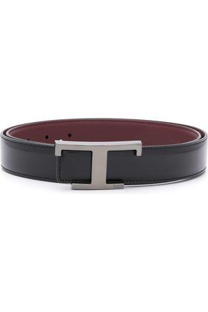 Tod's Men Belts - Logo buckle belt