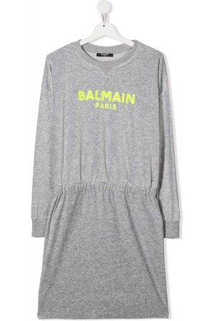 Balmain Girls Casual Dresses - TEEN sequined sweater dress