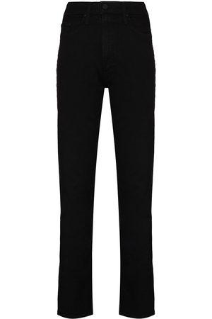 Mother Rider Skimp high-rise straight-leg jeans