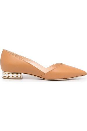 Nicholas Kirkwood Casati pointed-toe ballerina shoes