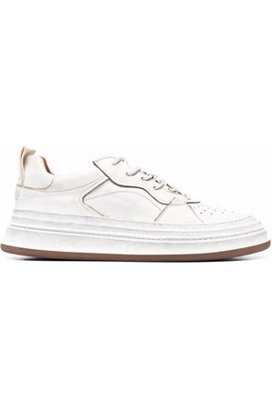 Buttero Used-effect low-top trainers