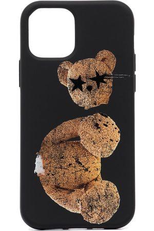 Palm Angels Men Phone Cases - Sprayed Bear IPhone 12 Pro case