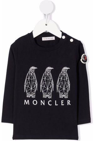 Moncler Geometric animal print T-shirt