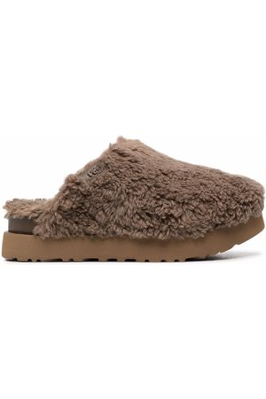 UGG Women Slippers - Platform shearling slippers