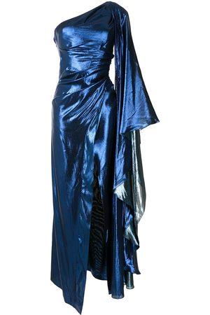 Semsem One shoulder kaftan dress