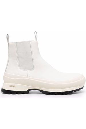 Jil Sander Leather Chelsea boots
