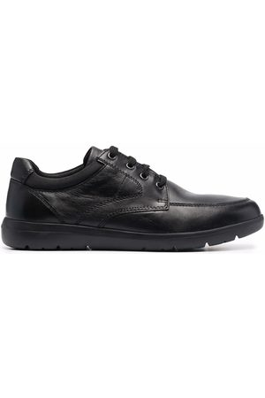 Geox Men Sneakers - Leather lace-up sneakers