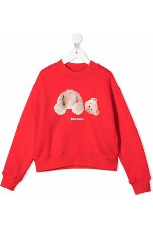 Palm Angels Girls Sweatshirts - PGBA002F21FLE0012560 2560 BROWN