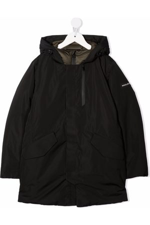 Woolrich Hooded padded down coat