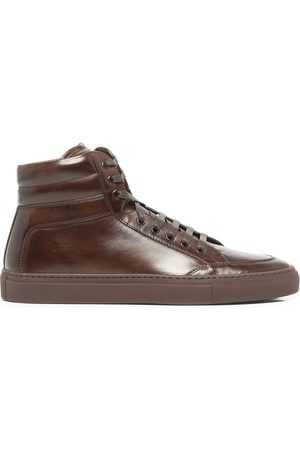 Koio Primo vegetable-tanned leather sneakers