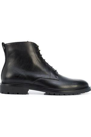 Koio Bergamo leather lace-up boots