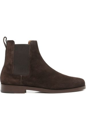 Koio Trento suede ankle boots