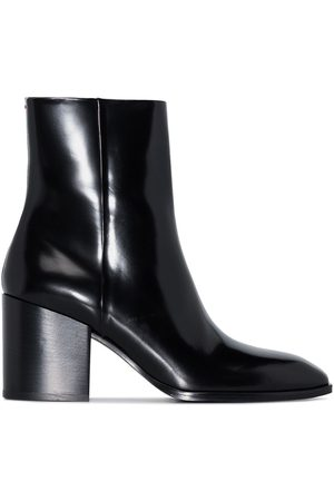 Aeyde Leandra 75mm leather ankle boots