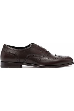Scarosso Judy lace-up leather brogues