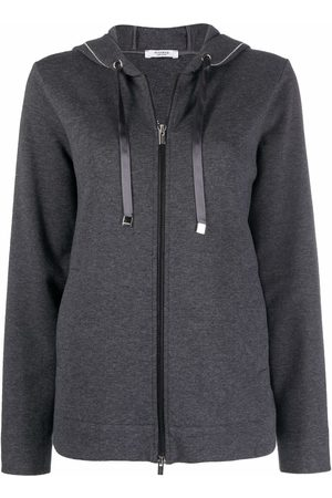PESERICO SIGN Knitted two-way zip hoodie
