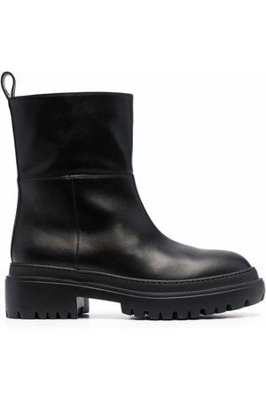 L'Autre Chose Women Ankle Boots - Ankle-length leather boots