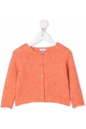 KNOT Lively speckle-knit cardigan