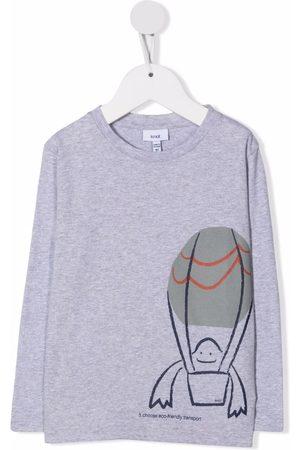 KNOT Eco Transport print T-shirt