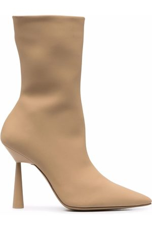 Gia Borghini X RHW Rosie 7 100mm ankle boots