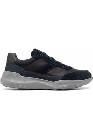 Geox Low-top leather sneakers