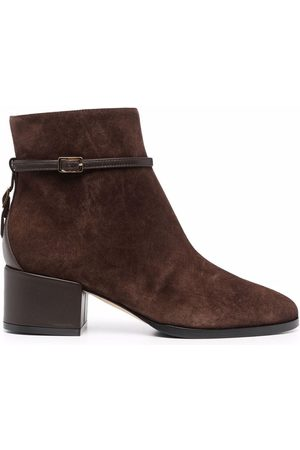 Sergio Rossi Chris suede ankle boots