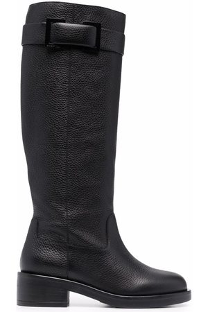 Sergio Rossi Prince leather knee-high boots