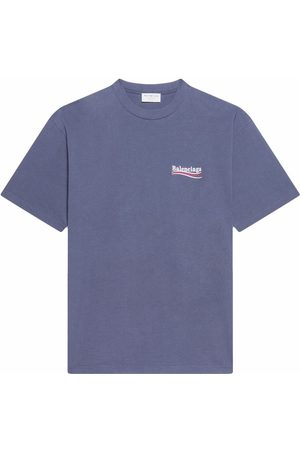 Balenciaga Campaign logo T-shirt