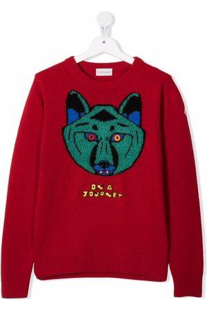 Moncler DNA Journey knitted jumper