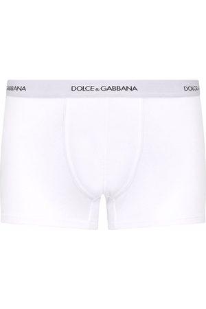 Dolce & Gabbana Logo waistband cotton boxer shorts
