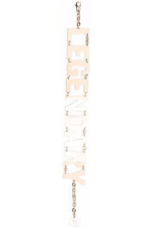 Honey Fucking Dijon Legendary letter charm bracelet