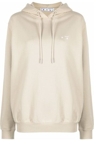 OFF-WHITE Women Hoodies - Logo-print hoodie