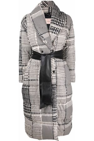 Twin-Set Patterned double-breasted coat