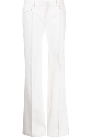 DION LEE Low-rise straight-leg trousers