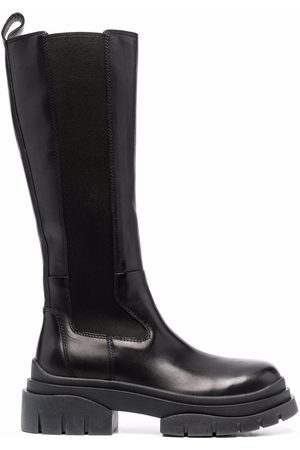 Ash Lucky knee-length leather boots