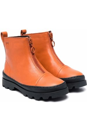 Camper Girls Ankle Boots - Half-zip ankle boots