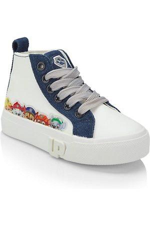 Ground Up Little Boy's Paw Patrol High Top Denim Sneakers