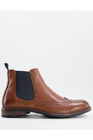 Silver Street Leather chelsea boots in tan