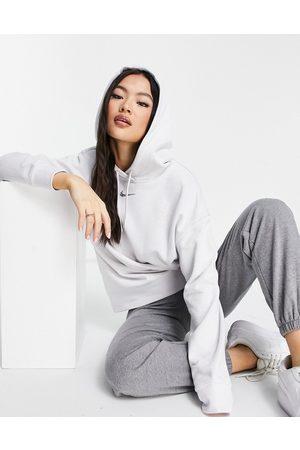 Nike Lounge essential fleece oversized hoodie in marl