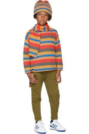 Repose AMS Kids Multicolor Stripe Boxy Sweater