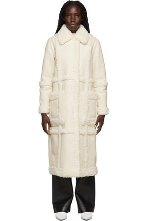 Stand Studio Off- Faux-Leather & Faux-Shearling Patrice Long Coat